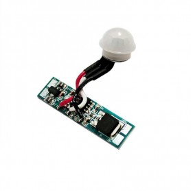 Sensor PIR mini para perfil de aluminio 12 / 24v