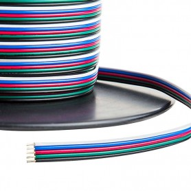 Cable 5 hilos RGBW x metro