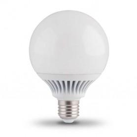 Lampara LED E27 tipo bola G95 12w blanco calido