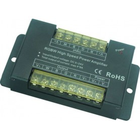 Amplificador RGB+W 4x8 AMPERIOS ALTA POTENCIA 5V / 12 / 24v