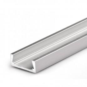 Perfil de aluminio para led 15.2x6mm 1 metro