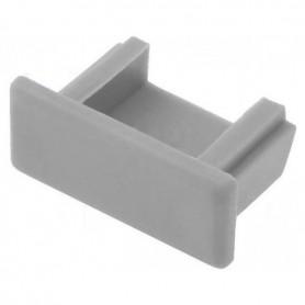 Tapa final para perfil de aluminio 15.2x6mm