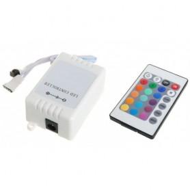 Controlador RGB con mando a distancia y controlador de intensidad