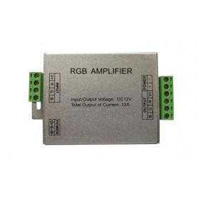 Amplificador de tiras de Led multicolor o RGB