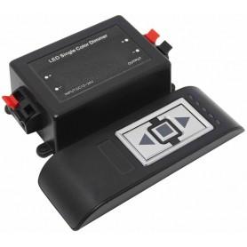 Regulador Dimmer para tiras de led monocrómaticas 96w 12/24V