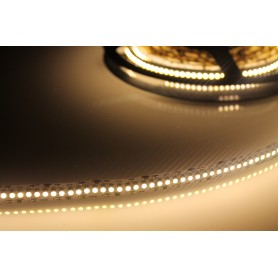 Tira de led flexible de 5 metros SMD 3528 240 led / m Blanco Cálido 2700 / 3000 K 10 mm IP65 (en tubo de silicona)