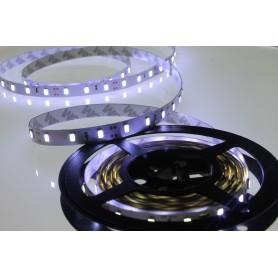 Tira de led flexible de 5 metros Samsung 5630 60 led / m Blanco Frío 6000 / 6500 K sin protección al agua