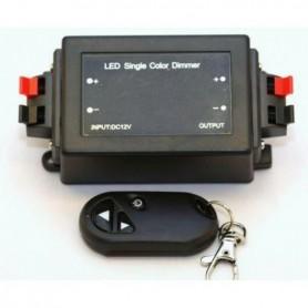 Regulador Dimmer por radiofrecuencia para tiras de led monocromaticas