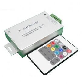 Controlador RGB con mando a distancia de Radiofrecuencia