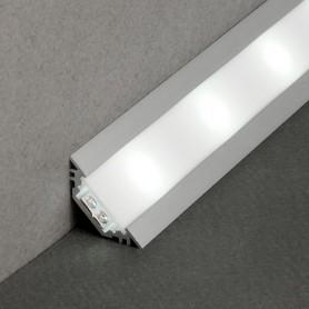 Perfil de aluminio Led TRIO de 2 metros