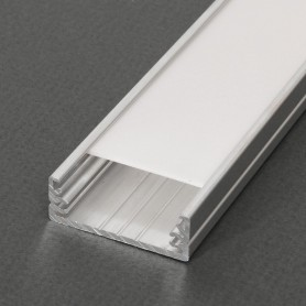 Perfil de aluminio Led WIDE de 2 metros