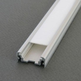 Perfil de aluminio Led SURFACE de 2 metros