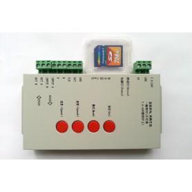 Controlador LED RGB digital T-1000S con tarjeta SD