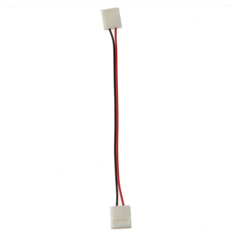 Conector+Cable Tira de LED Monocromo 10mm