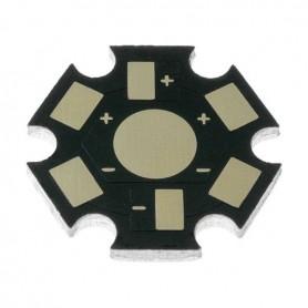 PCB de aluminio para LED de 1w 2w 3w 5w led de 19mm