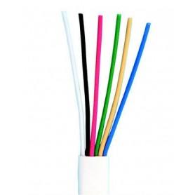 Cable 6 x 0,5mm x metro (6 cables de 0,5mm)
