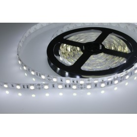 Tira de led flexible de 5 metros SMD 5050 60 led / m 5.700 lumenes alta luminosidad HQ Blanco Frío IP20