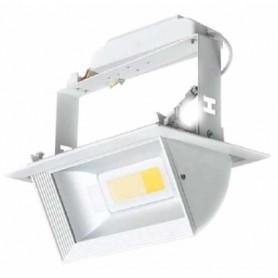 Foco proyector para interior basculante 2 x 20w