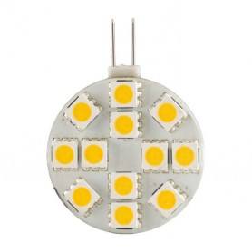 Lampara Led G4 Redonda led SMD 5050 12 voltios 28mm