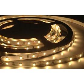 Tira de led flexible de 5 metros 2835 60 led / m Blanco calido 3000k sin protección al agua