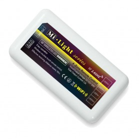 Controlador FUT036 Serie MI-Light monocolor RF hasta 4 zonas 12 / 24v