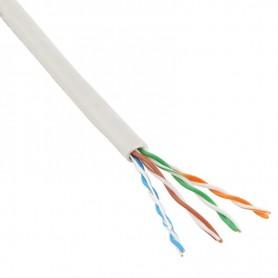 Cable UTP Categoria 5e CCA LX 8 hilos x 0,48mm. Precio por metro.