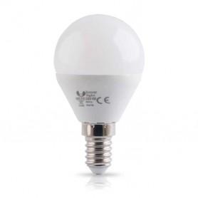 Lampara E14 G45 4w SERIE ECO SMD 2835 blanco cálido