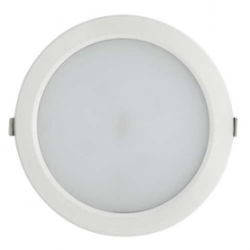 Downlight blanco redondo CIFRALUX 25w led 2000 lumenes