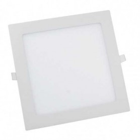 Downlight blanco cuadrado CIFRALUX 25w led 2000 lumenes