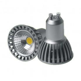 Lámpara LED GU10 6W/220V COB en Blanco frio o Blanco cálido