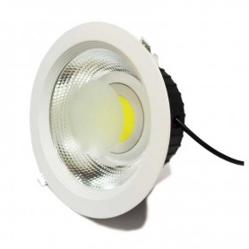 Downlight COB blanco de 30W 235x70mm