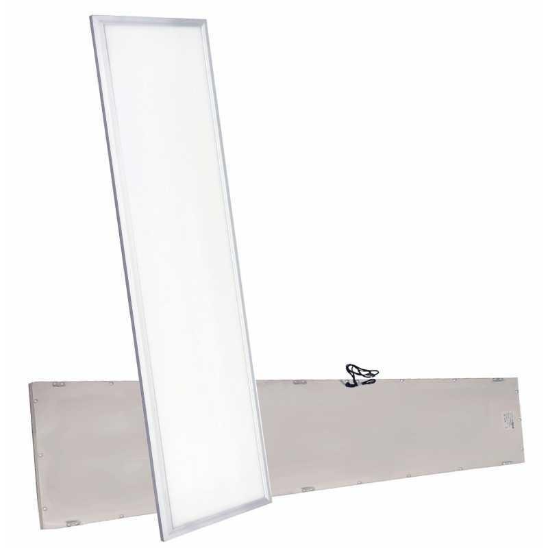 Panel LED 120x30 45w montaje en superficie, y suspensión blanco frio