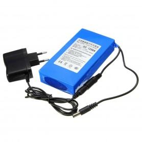 Bateria de Litio Recargable para tiras de Led de 9800mAh 12V