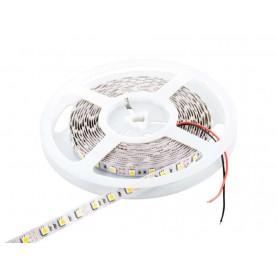 Tira de led flexible de 5 metros SMD 5050 60 led / m Blanco Frío 6000 / 6500 K sin protección al agua