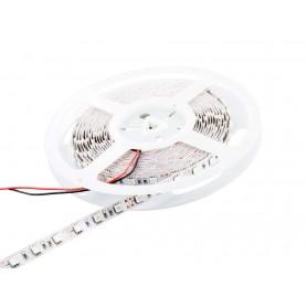 Tira de led flexible de 5 metros SMD 5050 60 led / m Rojo sin protección al agua