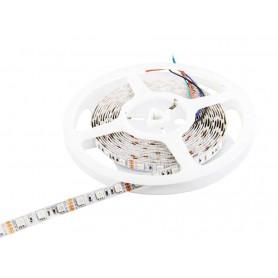 Tira de led flexible de 5 metros SMD 5050 60 led / m RGB sin protección al agua