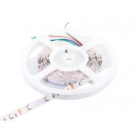 Tira de led flexible de 5 metros SMD 5050 30 led / m RGB sin protección al agua