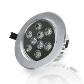 Foco empotrable basculante led techo interior 9w 810lm 220v
