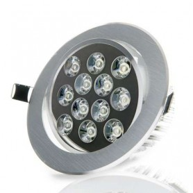 Foco empotrable basculante led techo interior 12w 1080lm 220v