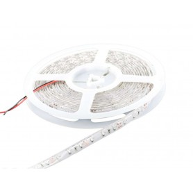 Tira de led flexible de 5 metros SMD 3528 60 led / m Rojo protección IP65