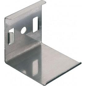 Grapa cromada para perfil de aluminio G-1919