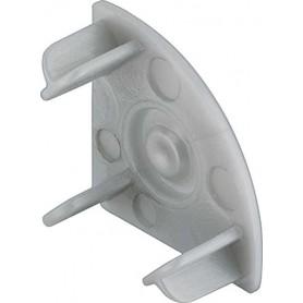 Tapa final para perfil de aluminio LP1612 (2 unidades)
