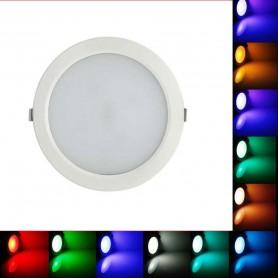 Downlight blanco redondo CIFRALUX 25w RGB a 24v