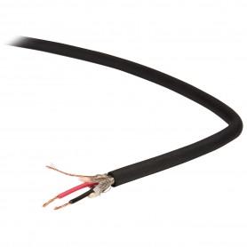 Cable DMX PROFESIONAL 2x0,35mm + malla 110Ω x metro
