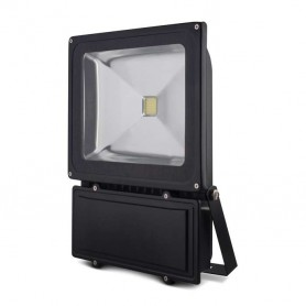 Foco reflector 70w SERIE BLACK color negro blanco frio