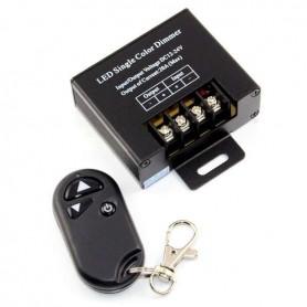 Regulador Dimmer 12-24v hasta 20A mando por radiofrecuencia para tiras de led monocromaticas