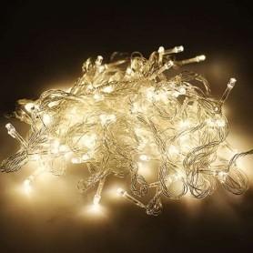 Guirnalda Navidad LED 10 metros 100 led color blanco