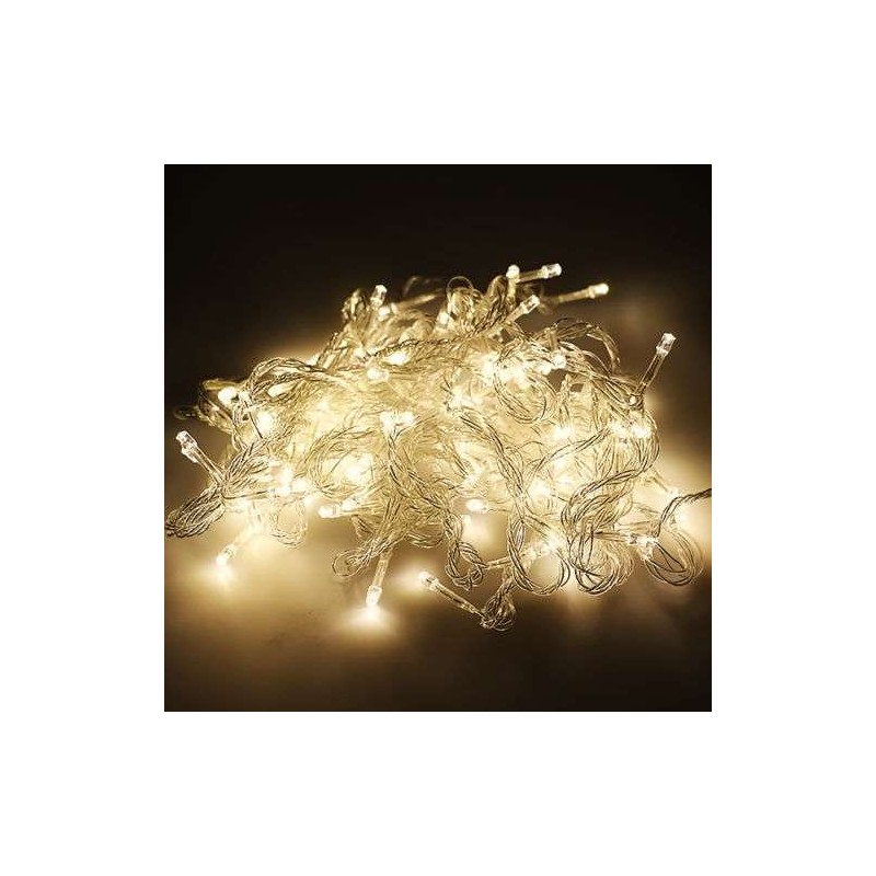 072bf367b96 Guirnalda Navidad LED 10 metros 100 led color calida