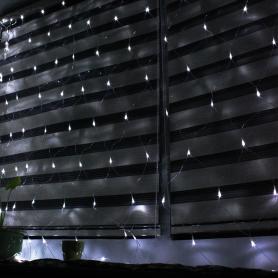 Red de luces NAVIDAD 2 x 3 metros para interior / exterior color luz blanca