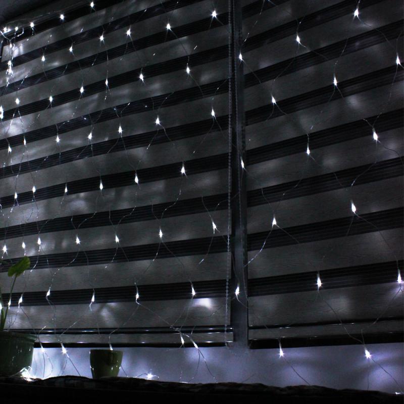 red de luces navidad x metros para interior exterior color luz blanca